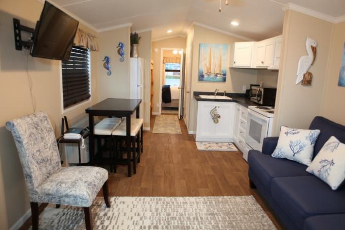 Full interior veiw of cottage