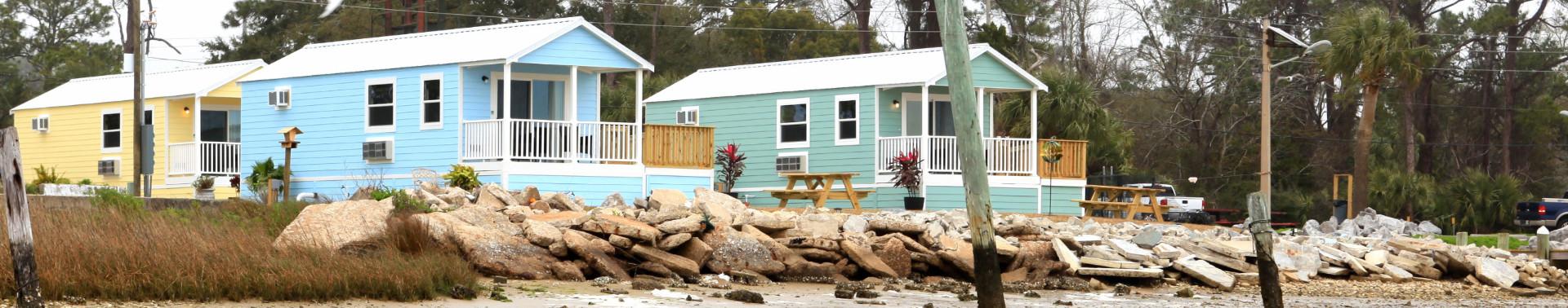 Forgotten Coast Cottages Bayfront Vacation Rentals